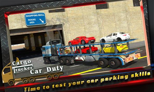 Cargo Trucker: Car Duty poster