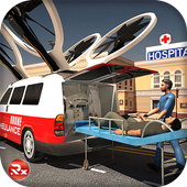 Drone Ambulance Rescue Sim icon