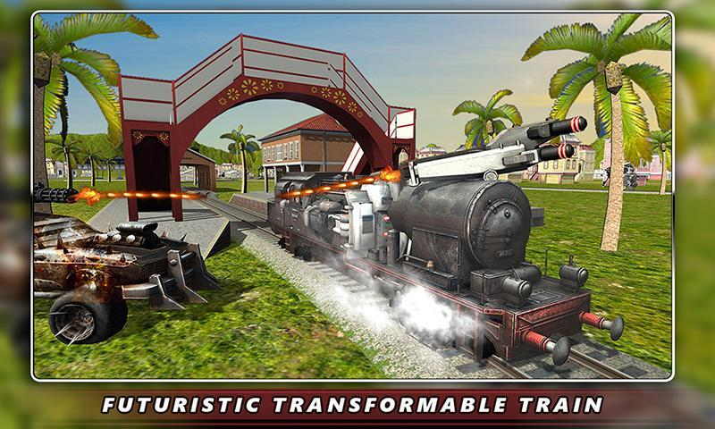 Euro Train Robot Transform for Android - APK Download