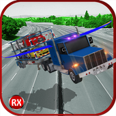 Flying Truck: Car Transporter icon