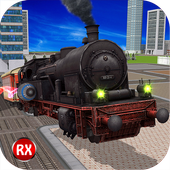Flying Train 3D Fury icon