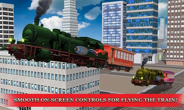 Flying Train 3D Fury apk screenshot