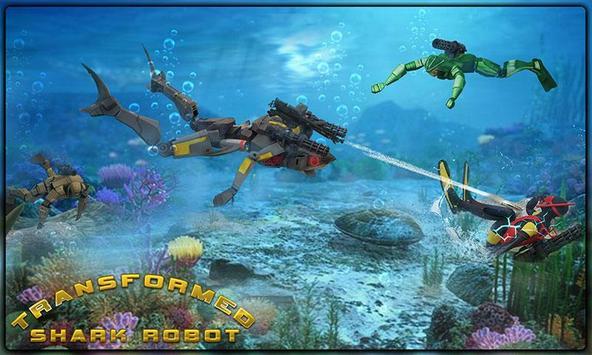 Starving Shark Robot Transform apk screenshot