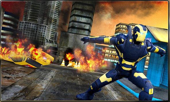 Iron Hero vs Monster Gangsters Super Battle screenshot 3