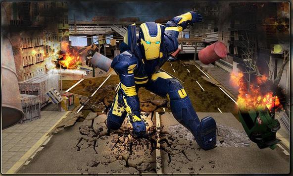 Iron Hero vs Monster Gangsters Super Battle poster
