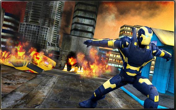 Iron Hero vs Monster Gangsters Super Battle screenshot 11