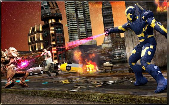 Iron Hero vs Monster Gangsters Super Battle screenshot 15