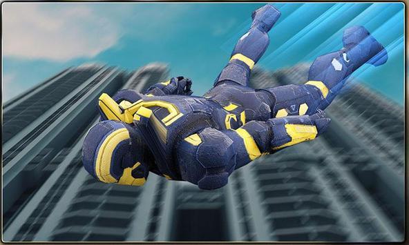 Iron Hero vs Monster Gangsters Super Battle screenshot 1
