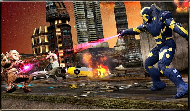 Iron Hero vs Monster Gangsters Super Battle screenshot 23