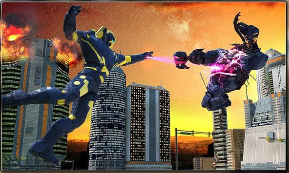 Iron Hero vs Monster Gangsters Super Battle screenshot 2