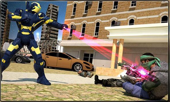 Iron Hero vs Monster Gangsters Super Battle screenshot 4