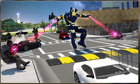 Iron Hero vs Monster Gangsters Super Battle screenshot 5