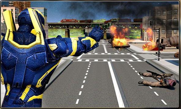 Iron Hero vs Monster Gangsters Super Battle screenshot 6
