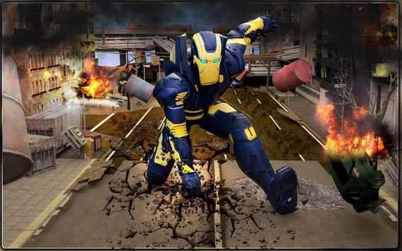 Iron Hero vs Monster Gangsters Super Battle screenshot 8