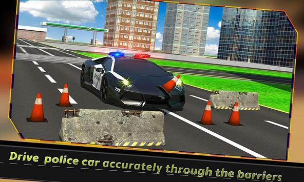 Police Car Training poster