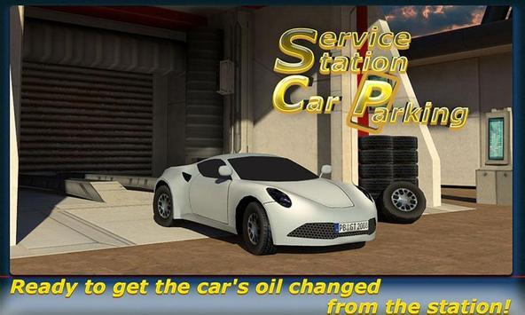 Service Station Car Parking apk screenshot