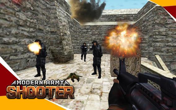 Modern Army Shooter screenshot 1