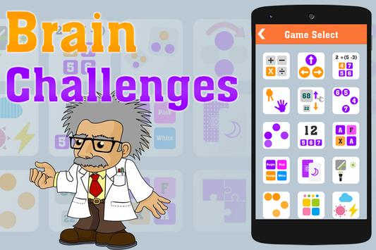 Brain Challenge - Game Trainer 海報