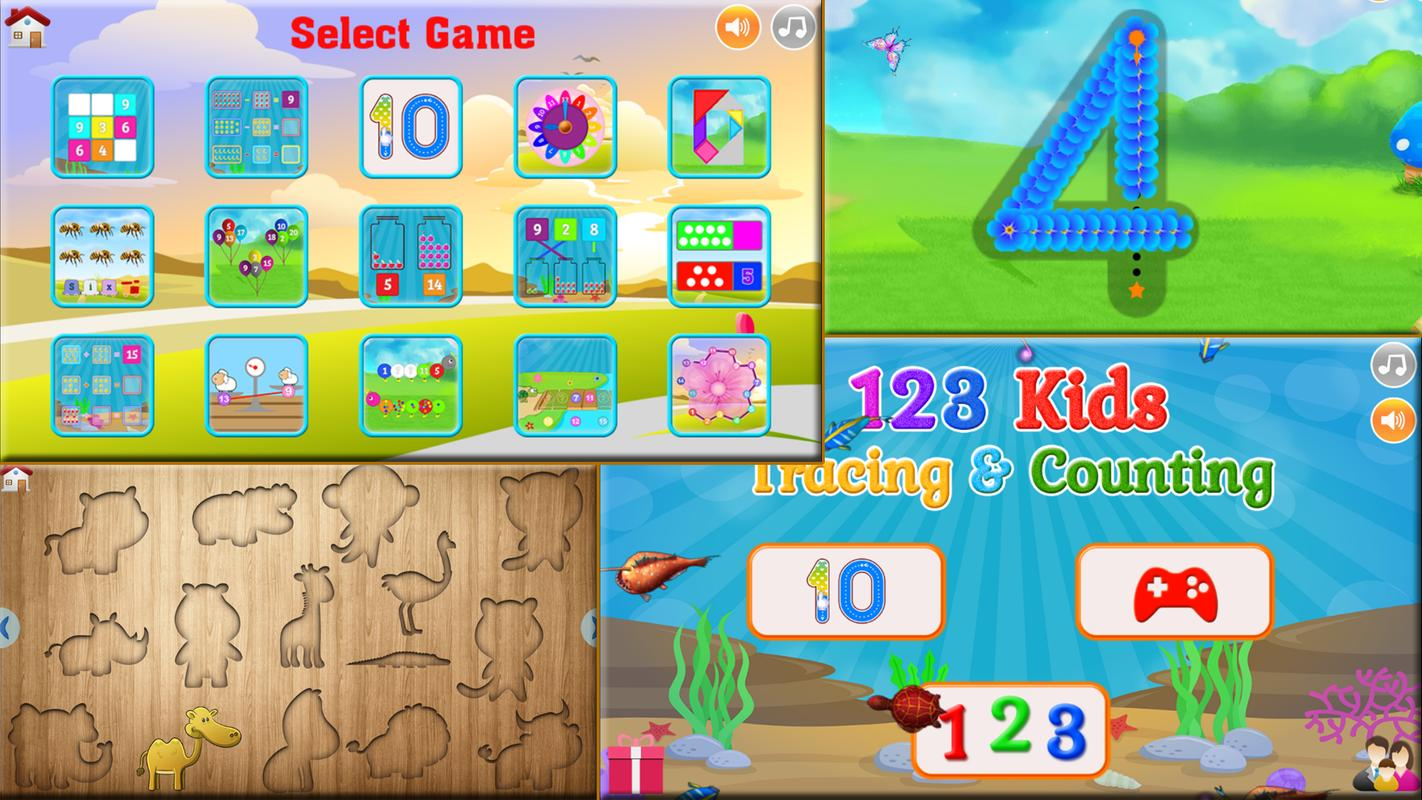 123 Kids Number and Math Games APK Download - Free Education APP for ...