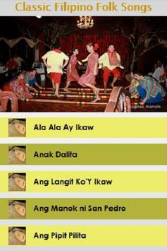 Classic Filipino Folk Songs poster