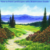 How to Paint Landscapes with Watercolors Guide icon