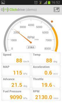 Clickdrive (demo) screenshot 2