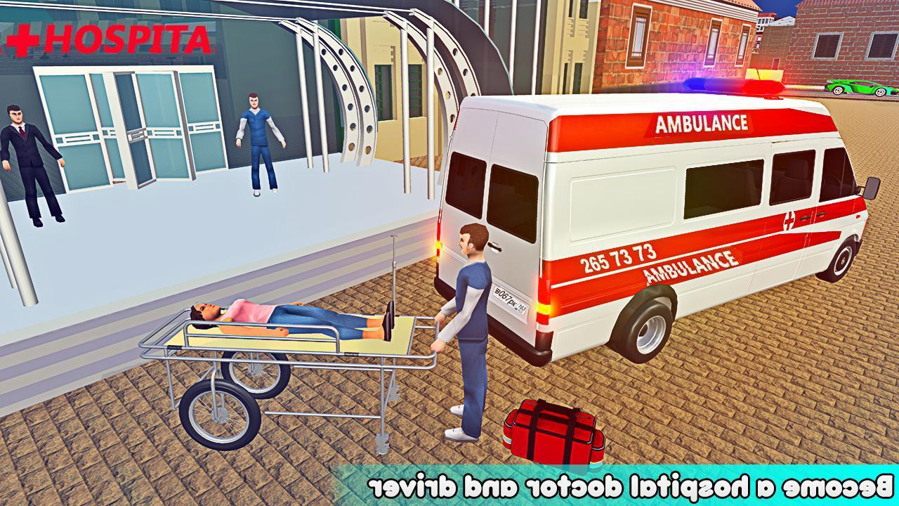 Ambulance Rescue Driver Simulator:Fast Driving 3