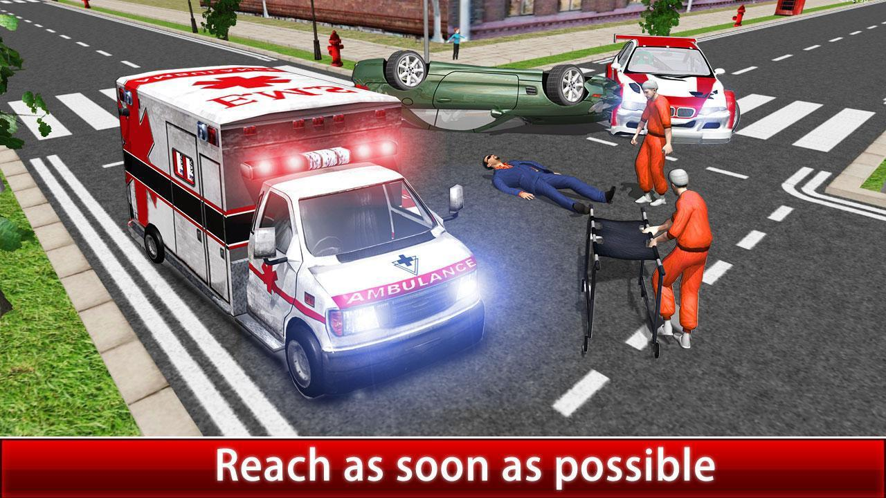 Ambulance Rescue Driver Simulator:Fast Driving 2