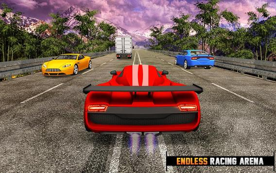 Endless Drive Car Racing: Best Free Games poster