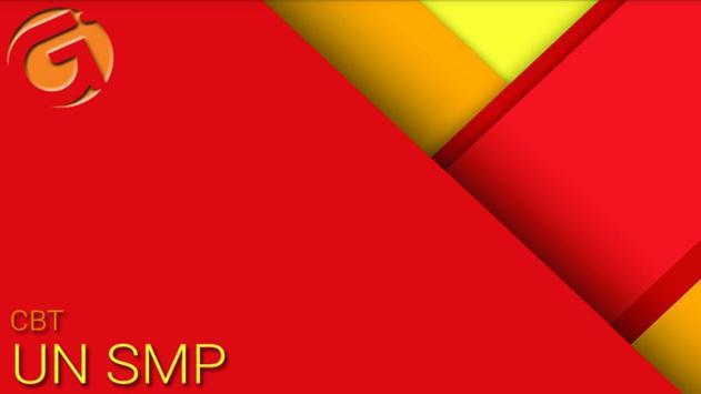 CBT UN SMP poster