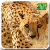 Wild Cheetah Simulator 3D icon