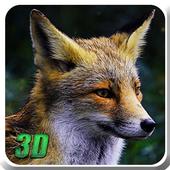 Wild Fox Simulator 3D icon
