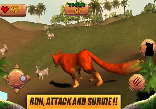 Wild Fox Simulator 3D apk screenshot