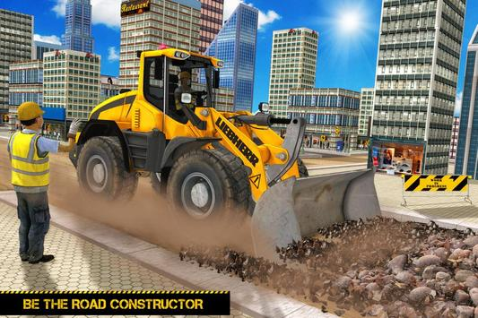 real road builder 2018 road construction games for android apk