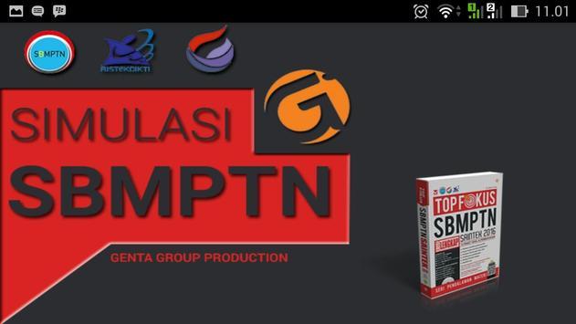 Simulasi SBMPTN GGP poster