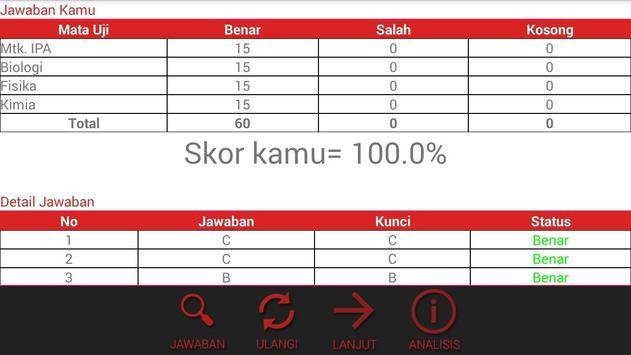 Simulasi SBMPTN GGP apk screenshot