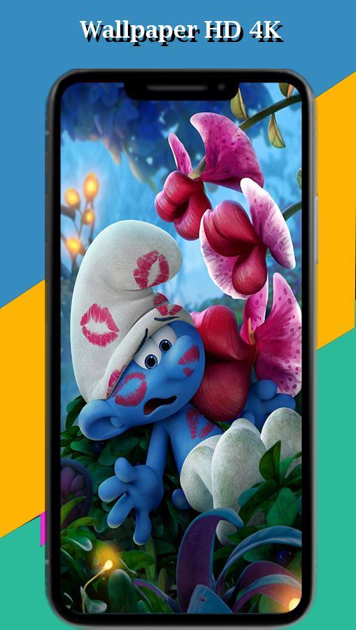 Smurf Wallpaper HD poster