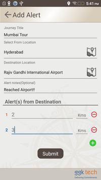 Destination Alert apk screenshot