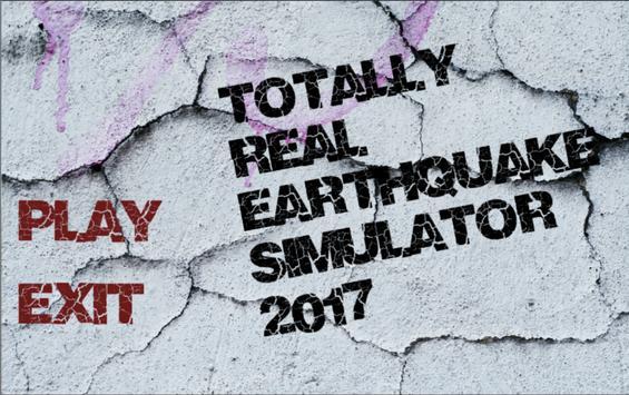 Totally Real Quake Sim 2017 poster