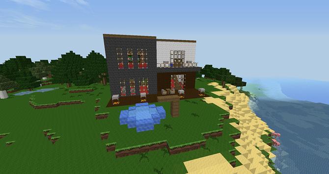house building minecraft ideas apk screenshot - App To Build A House