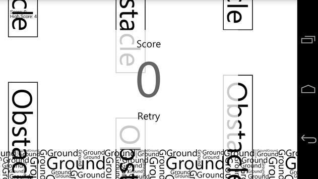 Flappy Word apk screenshot