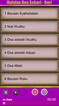 Hafalan Doa Sehari-hari poster