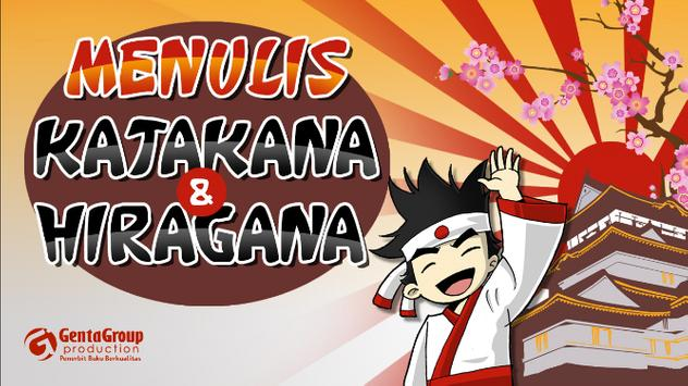 Menulis Hiragana & Katakana poster