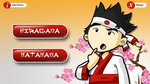 Menulis Hiragana & Katakana screenshot 1