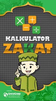 Kalkulator Zakat poster