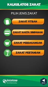Kalkulator Zakat screenshot 1
