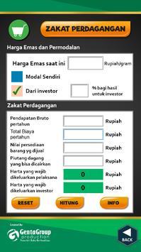 Kalkulator Zakat apk screenshot