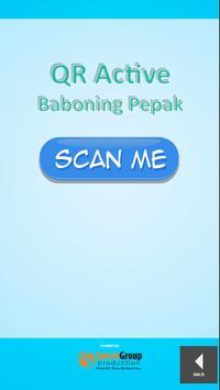 QR Active Baboning Pepak poster