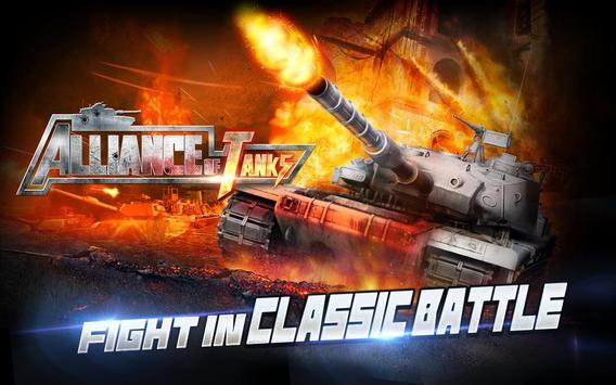 Alliance of Tanks poster