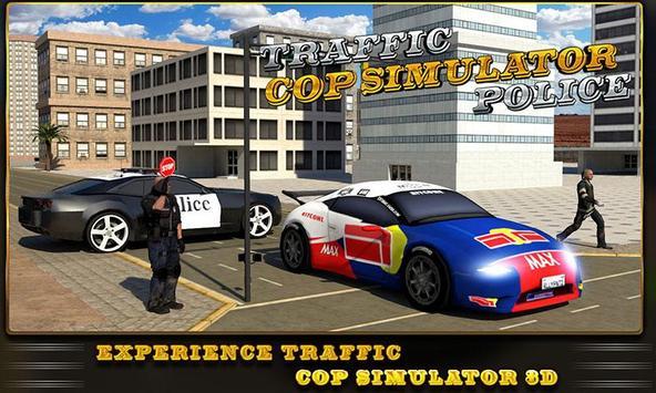 Traffic Cop Simulator Police poster